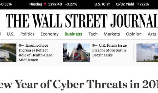 The Wall Street Journal Peter Tran