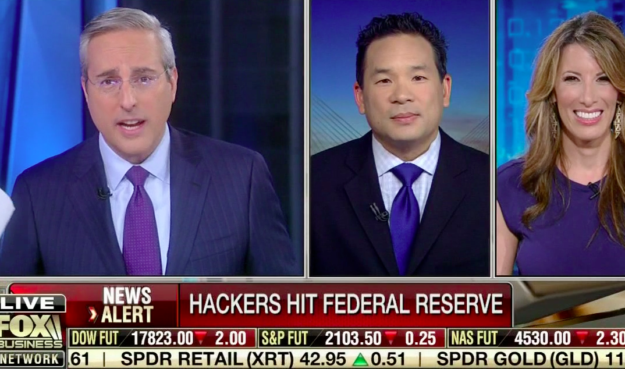 Hackers Attack The Federal Reserve